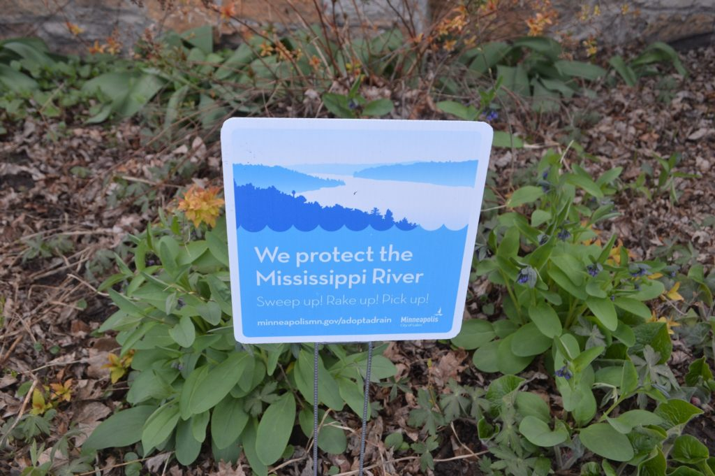 We protect the Mississippi sign