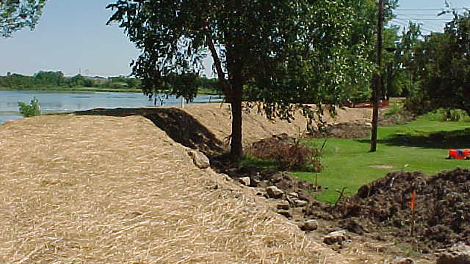 Battle Creek berm