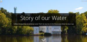 St. Paul Regional Water Services Storymap Capture