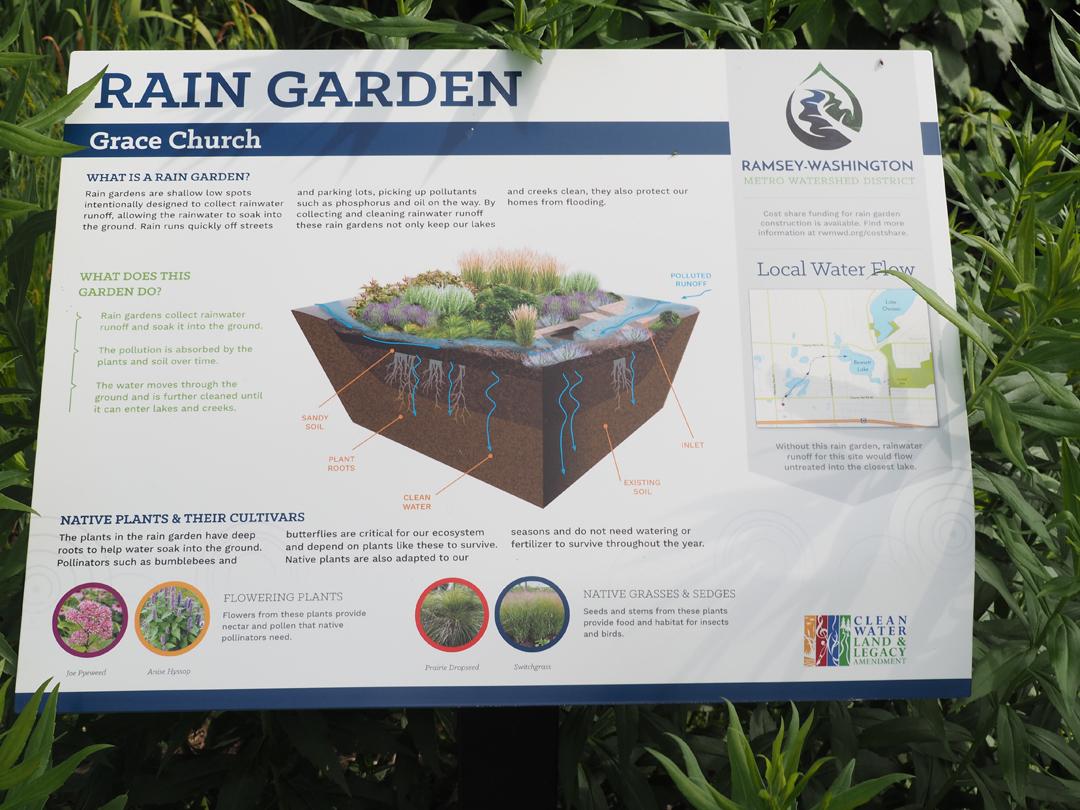 Raingarden sign